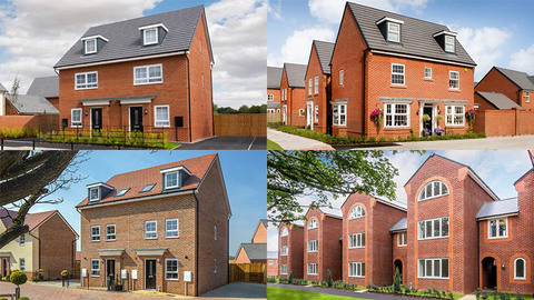Three-storeys from Barratt/David Wilson Homes