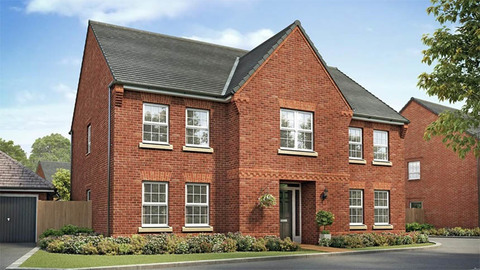 The 'Glidewell' from David Wilson Homes