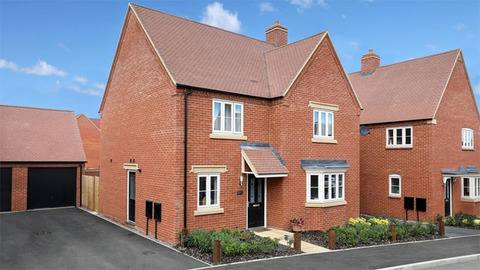 The 'Cambridge' from Barratt Homes