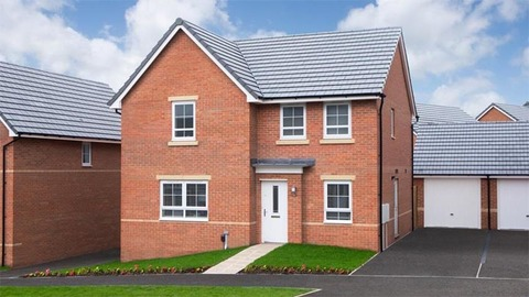 The 'Radleigh' from Barratt Homes