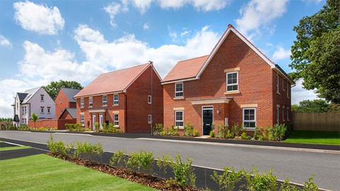 The 'Lincoln' from Barratt Homes