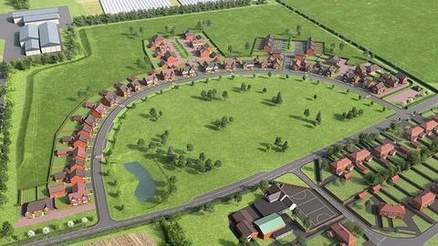 Salford Priors site plan (CALA Homes)