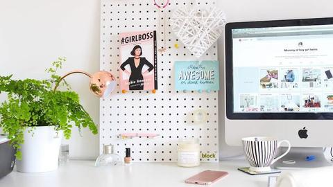 Jessica Soothill's home office