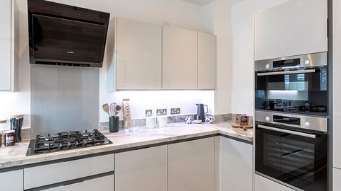 Kitchen at 'The Ashford', Finchwood Park