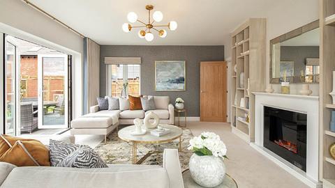'The Tilhurst' living room (CALA Homes)