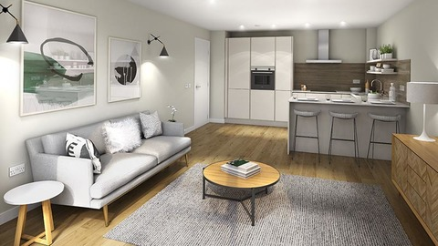 New show home at Canonmills Garden
