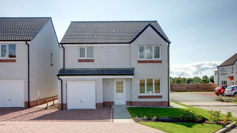 Home change at Glenmill (Persimmon Homes)