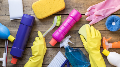 Scots spend the most time cleaning their homes