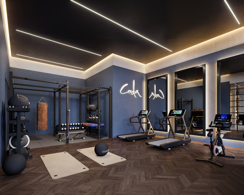 Coda residents gym