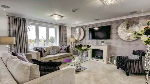The Maxwell lounge (Taylor Wimpey)