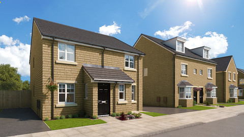 Highgrove Place in Burnley (Keepmoat)