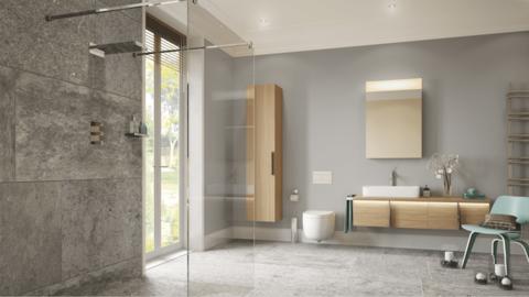 On The Level: Luxury wet room