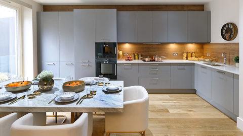Park Quadrant Residences show home kitchen