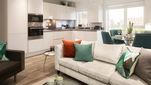 South Oxhey Central show home