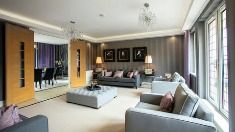 The Cramond show home living room