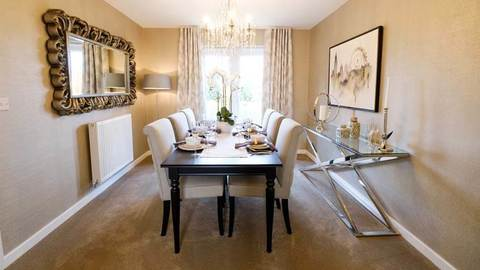 The Fairways dining room (Kier Living)