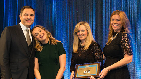 L&Q collects Gold at the Grosvenor House Hotel