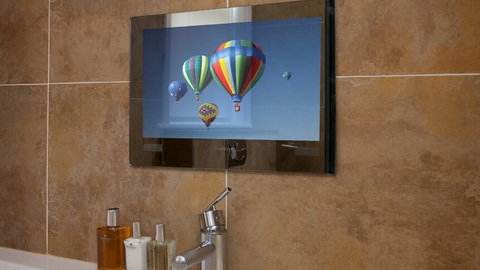 Watch your favourite TV shows in the bath