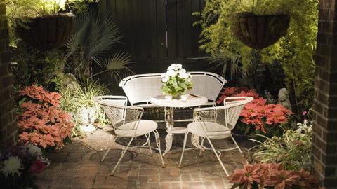 Abundant planting for this stylish urban garden