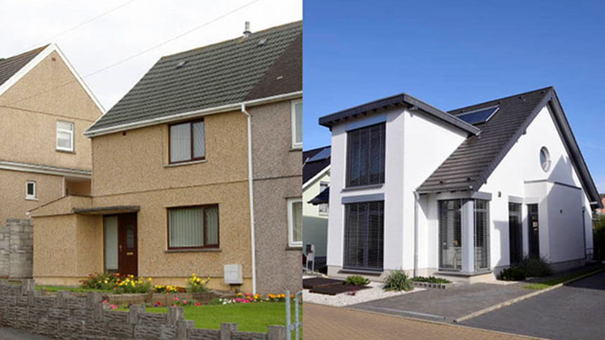 Part exchanging your current home for a new build