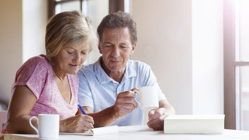 A retired couple explores their retirement option