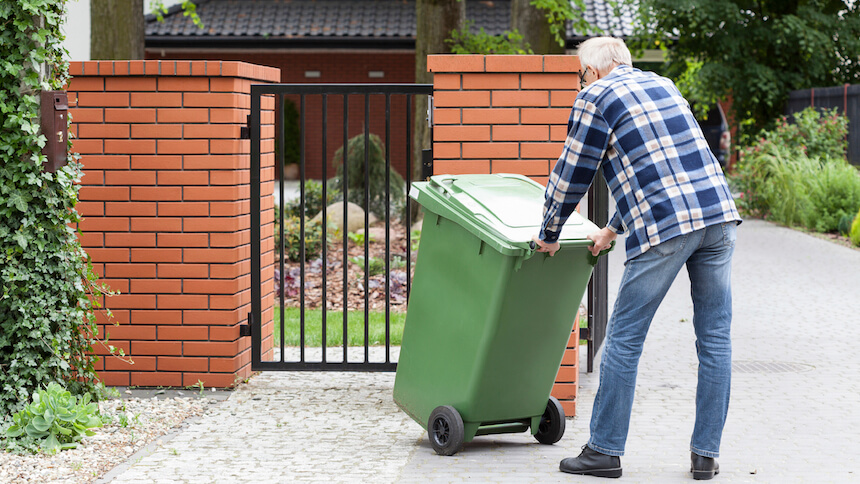 Acts of kindness such as taking out the bins