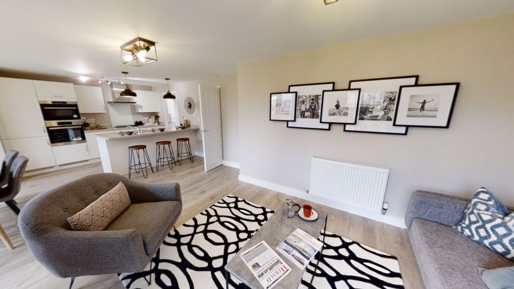 The 'Barnwell' show home at The Wheatfields