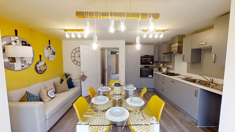 The 'Chisley' show home at The Wheatfields