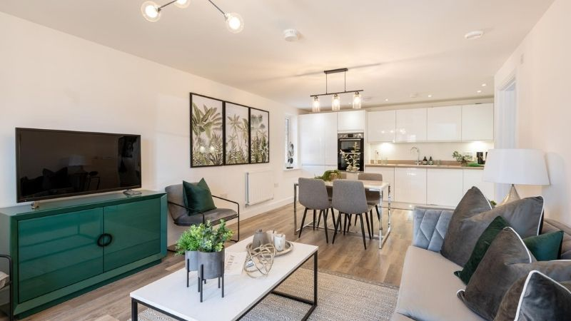 Taylor Wimpey Show Apartment Forge Wood