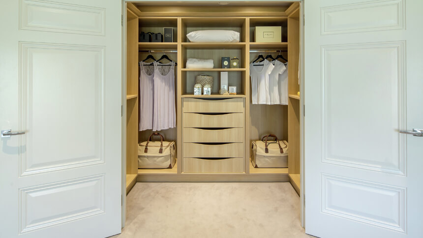 Step into your own beautiful dressing room