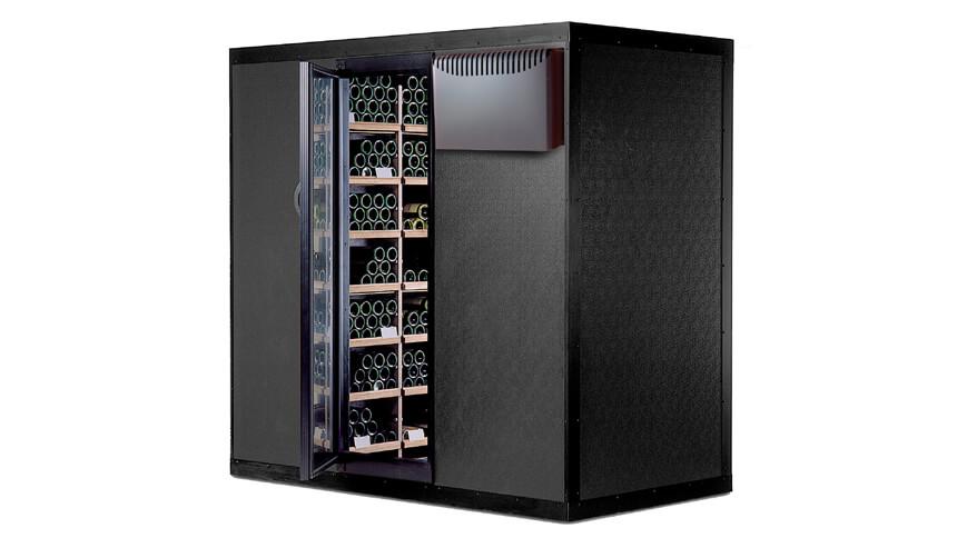 Espace 900 is a walk-in wine cellar