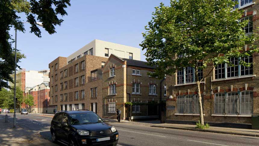 Abbey house in bermondsey by notting hill housing whathouse for House notting hill