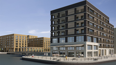 Royal Albert Wharf with Shared Ownership in Beckton