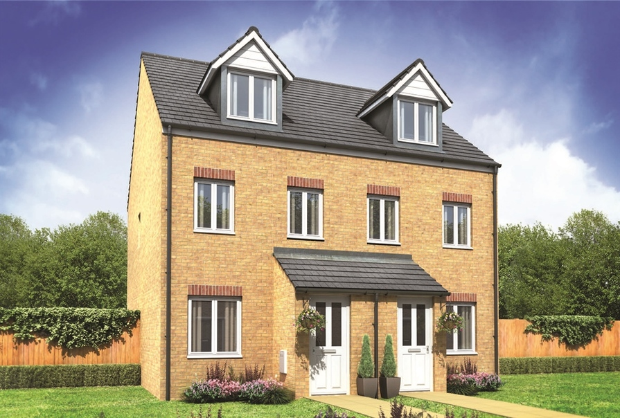 Persimmon Homes In Bradwell Norfolk