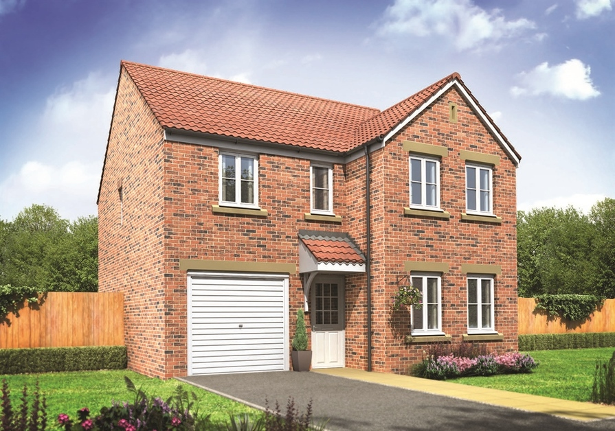 4 Bedroom House In Hednesford New Houses For Sale
