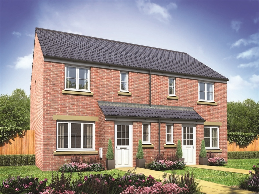 Persimmon homes in wakefield west yorkshire for Wakefield house