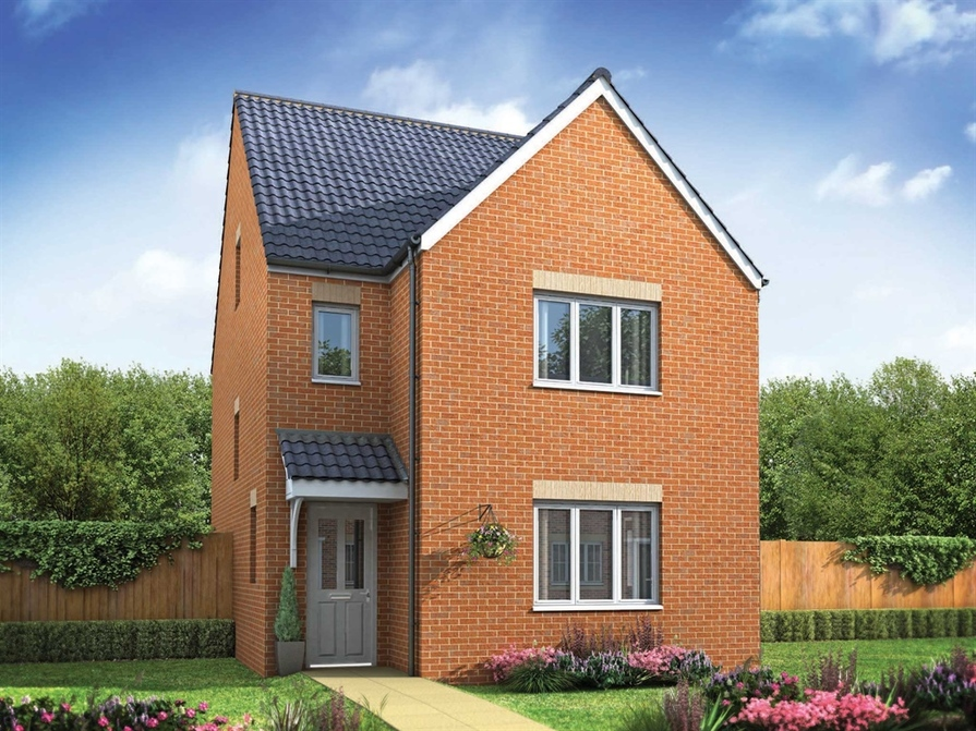 Small New Build Homes In West Midlands