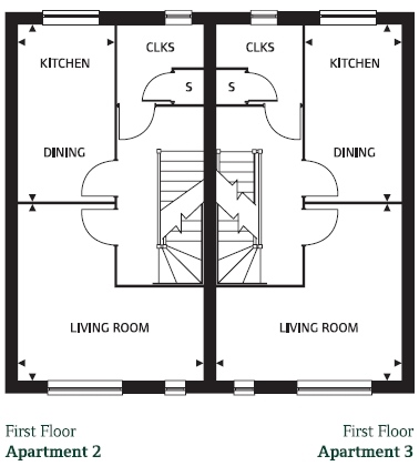 First Floor (plots 41 & 42)