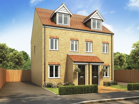 Built by Persimmon Homes, The Hanbury Plot 116 Priced at £139,950 in