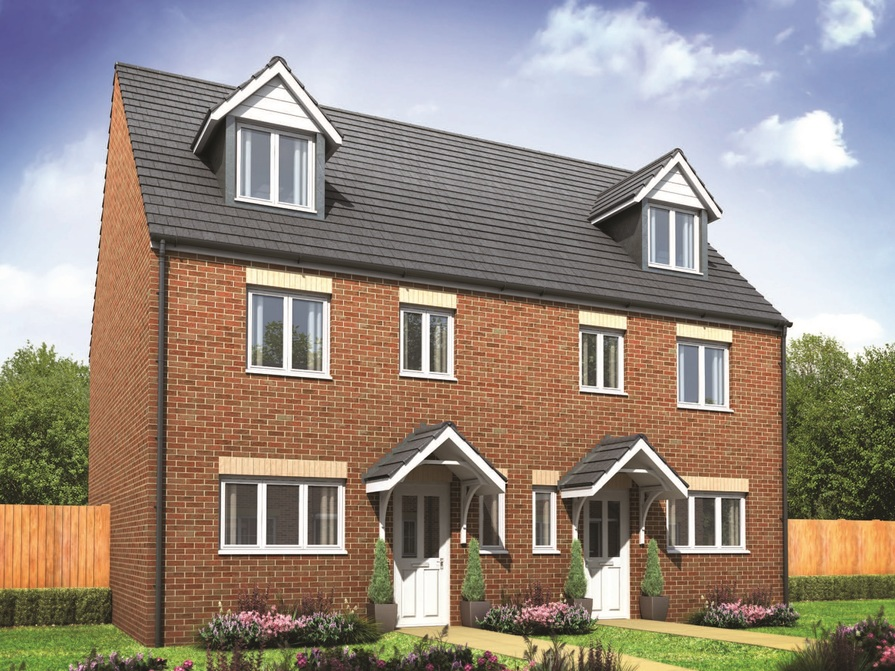 Weavers wharf in coventry houses by persimmon homes for Coventry home builders