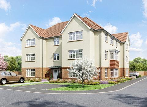 Kingsgate House Tuype 4 plots 107 , ... (Plot 107)