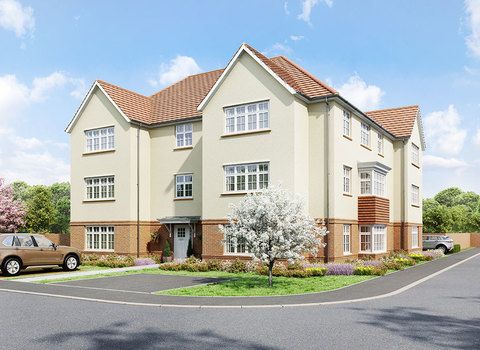 Kings gate House Type 5 Plot 108 2 bedroom apartments - Plot 108