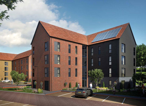 Plots 203, 206 & 209 Hythe Courth 2 Bed Apartment - Plot 203