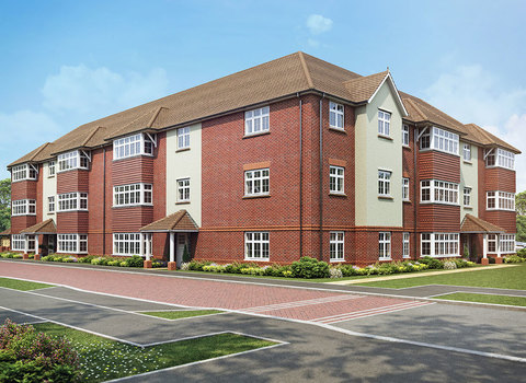 Type B Plots 90, 92, 94, 97, 99 & 101 2 bedroom apartment Whitbread court - Plot 90