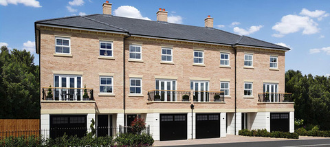 Priory Mews in Newport Pagnell