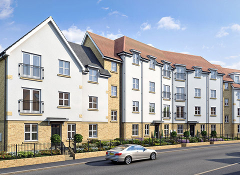 Plot 1101 Monarch Apartment Type 6 - Plot 1101