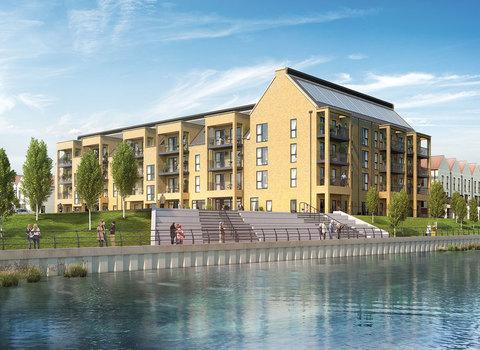 Plot 200  Riverside House 2 bedroom apartment (Plot 200) - Plot 200