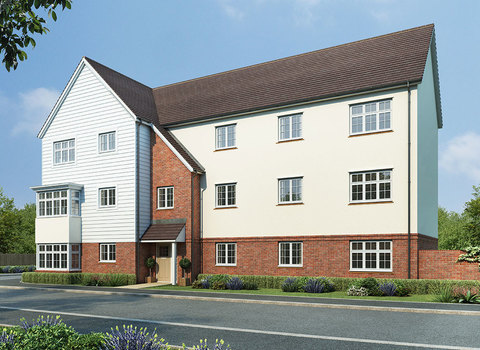 Plot 116 Culpepper House 2 bedroom apartment - Plot 116