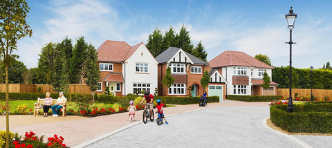 Lancaster Green at Woodford Garden Village,Woodford in Woodford