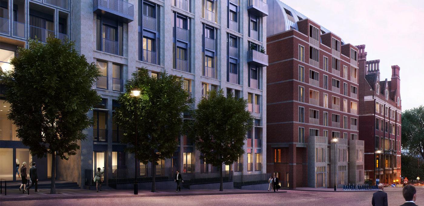 St Edward, 190 Strand, Savoy & Milford House, Exterior, CGI